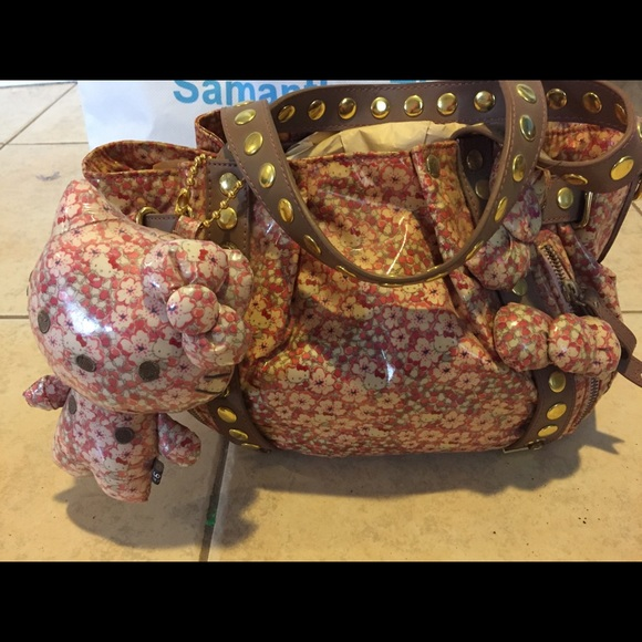71ae8590d COLLECTIVE NWOT Samantha Thavasa X Hello Kitty bag.  M_5a336b182599fe57b500b179